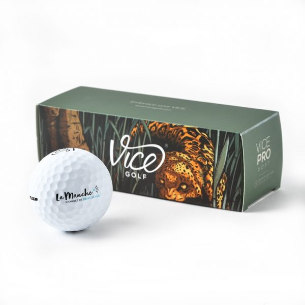 Balles de golf la Manche