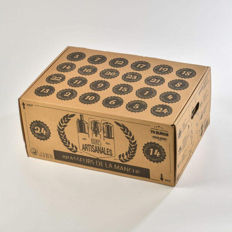 Coffret de bières artisanales 100% Manche - Les brasseurs de la Manche