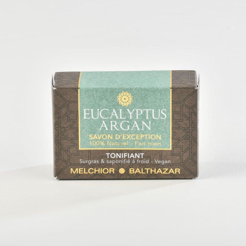 Savon argan eucalyptus Melchior et Balthazar